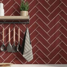 """Our new Siam collection of metro tiles gives your walls the """"wow"""" factor. These ceramic wall tiles have amazing colour depth that is reminiscent of traditional ceramics, but with a fresh and modern range of colours with natural graduation and a handmade feel. Metro Tiles, Outdoor Tiles, Color Depth, Ceramic Wall Tiles, Kitchen Tiles, Wow Products, Tile Floor, Graduation, Walls"""