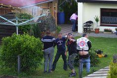 Eine von vielen Beleidigungen gegen Knöllchen-Horst: Nilges Nachbarn wurden 2009 für dieses Benehmen verurteilt.
