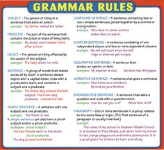 There is also rule in the grammar