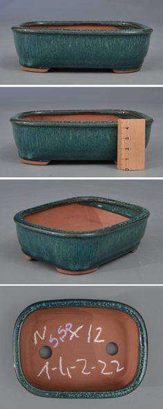 Pot rectangulaire émaillé