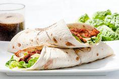 Wraps au poulet pané, Comté et mayonnaise Pour 2 personnes: ► Pour la mayonnaise maison: Préparation: 2 min...