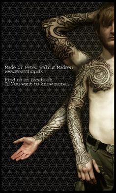 Nordic urnes armor by Meatshop-Tattoo.deviantart.com on @deviantART