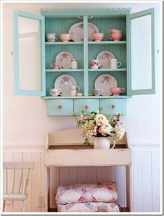 Precious! Considering there are both teacups and blankets, seems great for a studio apartment :)