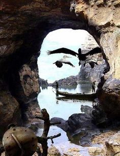 Clever optical illusion nature moulds itself into a portrait of salvador dali,now that is surreal art great wildlife seascape photo Excited Pictures, Cool Pictures, Cool Photos, Funny Pictures, Random Pictures, Perfect Timed Pictures, Amazing Photos, Funny Images, Funny Pics