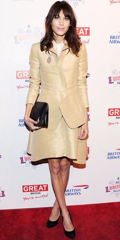 Look of the Day - March 24, 2013 - Alexa Chung in Carven from #InStyle