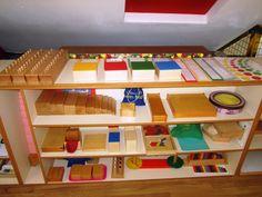 Our Montessori Classroom Montessori Classroom Layout, Montessori Room, Montessori Homeschool, Montessori Toddler, Montessori Materials, Montessori Activities, Classroom Organization, Homeschooling, Sensory Tools