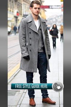 Be the most stylish working man in town, with these Business Casual looks that you should try this Winter Check all photos here. Business Attire For Men, Business Casual, Bespoke Suit, Working Man, Formal Wear, Style Guides, Casual Looks, Stylish Outfits, Winter Fashion