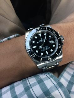 Rolex Submariner on casual day