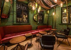Neri&Hu creates bespoke furnishings for Shanghai punch bar