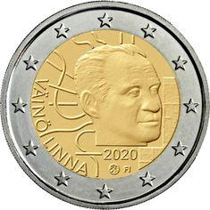 Diseño de la segunda moneda de 2 euros cc Finlandia 2020   Numismatica Visual Tove Jansson, Timbre Collection, Euro Coins, World Photo, Photo Memories, Coin Collecting, Coins, European Flags, Finland
