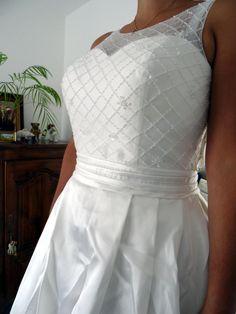Robe de mariée lightinthebox - bustier