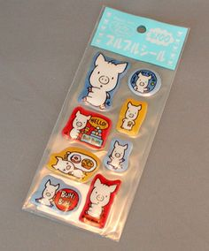 Piggy Stickers