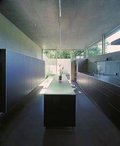 Concrete and glass modern by Attilio Panzeri