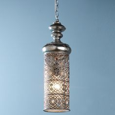 Moroccan Cylinder Pendant Light