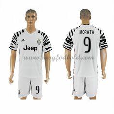 Fodboldtrøjer Series A Juventus 2016-17 Morata 9 3. Trøje