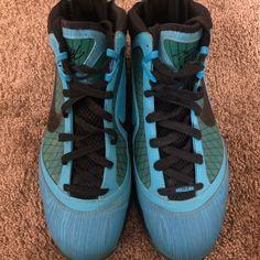 separation shoes 37aa8 9abe1 Nike Shoes   Nike Lebron 7 Asg Sz 11.5   Color  Blue   Size  11.5