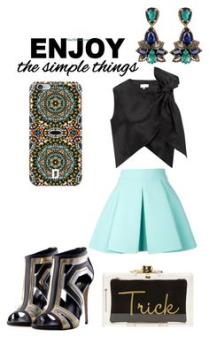 Simple Things by giubagnols on Polyvore featuring polyvore, fashion, style, Isa Arfen, FAUSTO PUGLISI, Charlotte Olympia, DANNIJO, WALL and clothing