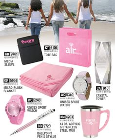 October is coming faster than you think! Everything pink is available from PROforma.
