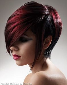 By Bloom Evy. Cool red hair look #red  @Bloom.COM