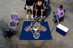 FanMats 10537 - Floor Mat with Florida Panthers Logo