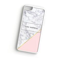 Chic Happens Rose Gold Marble iPhone 7 Plus case   ^ Materials : Plastic, Rubber ^ Colors : Black, White, Transparent #iPhone #iPhone7Plus #iPhoneCase #iPhone7PlusCase #phoneCase #mobileCase #ariesand #ariesandCase