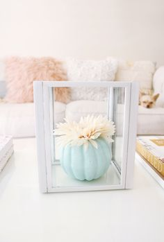 DIY Fall Lantern Table Decor