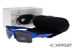 oakley flak jacket jet sunglasses blue