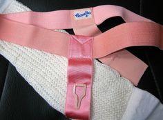 CAMELIA Bindengürtel mit neuer, waschbarer Damenbinde, auch für Monatshöschen   eBay
