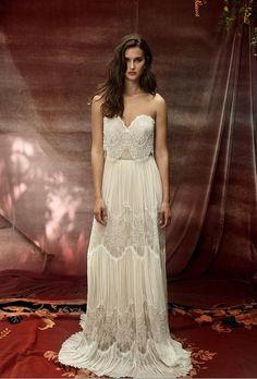 Beyond Beautiful 'White Bohemian' Wedding Dress Collection From Lili Hod - Weddingomania