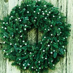 28 beautiful Christmas wreath ideas | Fir and eucalyptus pods | Sunset.com