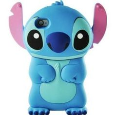 Disney 3d Stitch Movable Ear Flip Hard Case Cover for Iphone 4/4s Xmas gift | I OWL YOU via iowlu.com
