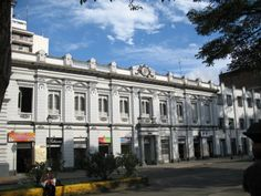 Buildings around the main plaza, Ibague