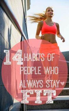 14 Healthy Fitness Habits.