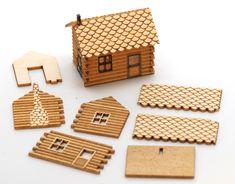 doll house lasercut - Google Search