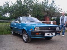 I had a Mitsubishi Colt Celeste, almost identical to this one. Mitsubishi Colt, Classic Cars, Vehicles, Vintage Classic Cars, Car, Classic Trucks, Vehicle, Tools