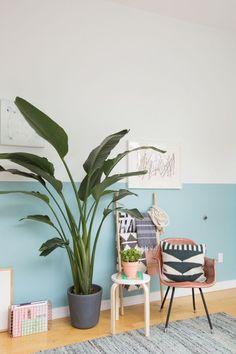 A tendência do 'Half painted Wall' que você precisa conhecer!