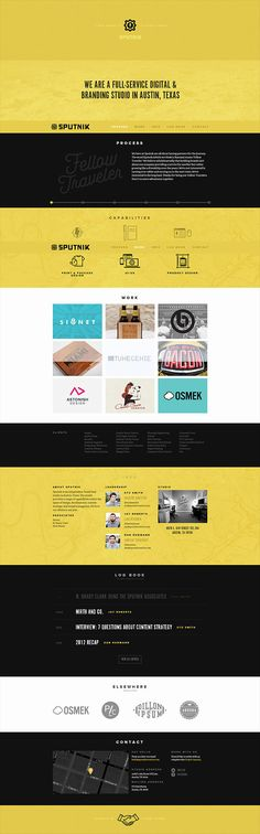 Sputnik Creative - CoolHomepages Web Design Gallery