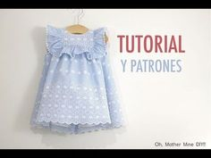 Diy ropa mujer costura 64 Ideas for 2019 Baby Dress Design, Baby Girl Dress Patterns, Frock Design, Cute Kids Fashion, Baby Girl Fashion, Diy Fashion, Frocks For Girls, Little Girl Dresses, Flower Girl Dresses