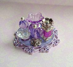 Miniature Perfume Tray