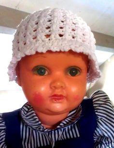 LINDEVROUWSWEB: Baby Zomerhoedje met patroon