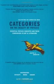 Categories On the Beauty of Physics   Essential Physics Concepts and Their Companions in Art and Literature