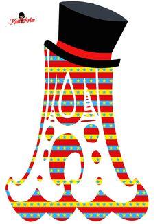 SGBlogosfera. María José Argüeso: Abecedarios Circo Clown Party, Circus Theme Party, Carnival Birthday Parties, Circus Birthday, 10th Birthday, Birthday Decorations, Party Themes, Happy Birthday, Candyland