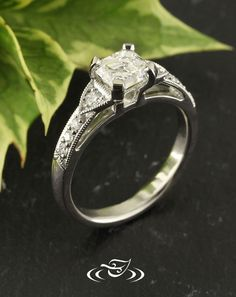 Be a part of your own ring design! Start from scratch, and draw out the ring beside an artist who can make your dream ring come to life! We can also do this online, with a personal web page assigned to you and your designer. We also have live chat if you have ANY questions throughout the process or how to get started!. #rings #wedding #bling #diamond #diamondring #bride #inspiration #weddinginpiration #engagement #engagementring #gemstone See More…