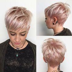 Leicht Daily Short Frisur für Frauen, Short Haircut Ideen