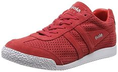 Gola Classics Womens Harrier Squared Red 9 M ** Want to know more, click on the image.