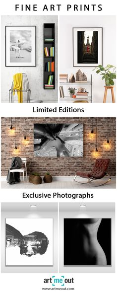 Need wall decor inspiration? Art Me Out is here to bring art to every home. Fine art prints in limited editions available at affordable price. Whether you are looking for a very large print to cover your living room wall or a small frame to add in a hallway, Art Me Out has everything you need! Browse from hundreds of photographs in exclusivity by today and tomorrow's artists. LIMITED TIME OFFER: 20% OFF YOUR FIRST ORDER until October 7th.