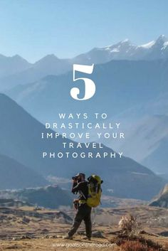 5 ways to drastically improve your travel photography - Photography -. - 5 ways to dramatically improve your travel photography – photography – - Outdoor Photography, Digital Photography, Amazing Photography, Nature Photography, Photography Backdrops, Landscape Photography, Children Photography, White Photography, Umbrella Photography