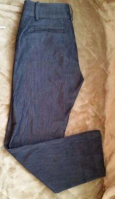 Women's Lee Jeans Natural Straight Leg Just Below Waist Size 8M Dark #Lee #StraightLeg