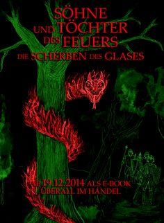"""Poster zur Wiederveröffentlichung von """"Söhne und Töchter des Feuers, Band Zwei"""" am 19.12.2014"""