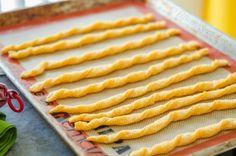 Cheddar Cheese Twists Recipe
